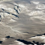 Glaciers in West Antarctica taking during a NASA Operation IceBridge campaign this past fall. A new analysis of the fastest-melting region of Antarctica has found that the melt rate of glaciers there has tripled during the last decade. Credit: NASA
