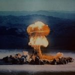 """The 37 kiloton """"Priscilla"""" nuclear test, detonated at the Nevada Test Site in 1957. Credit: U.S. Department of Energy"""